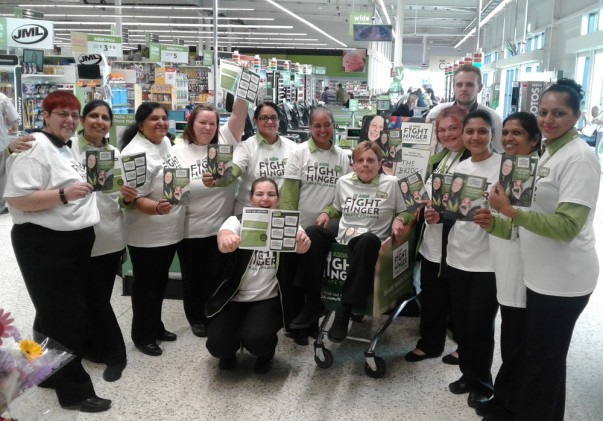 Asda Fight Hunger Create Change at Asda Leicester Abbey Lane
