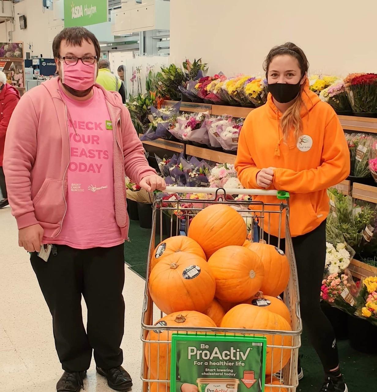 Pumpkins for Deaf Active | Asda Huyton