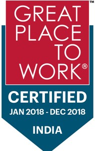 Great Place to Work 2018 Logo