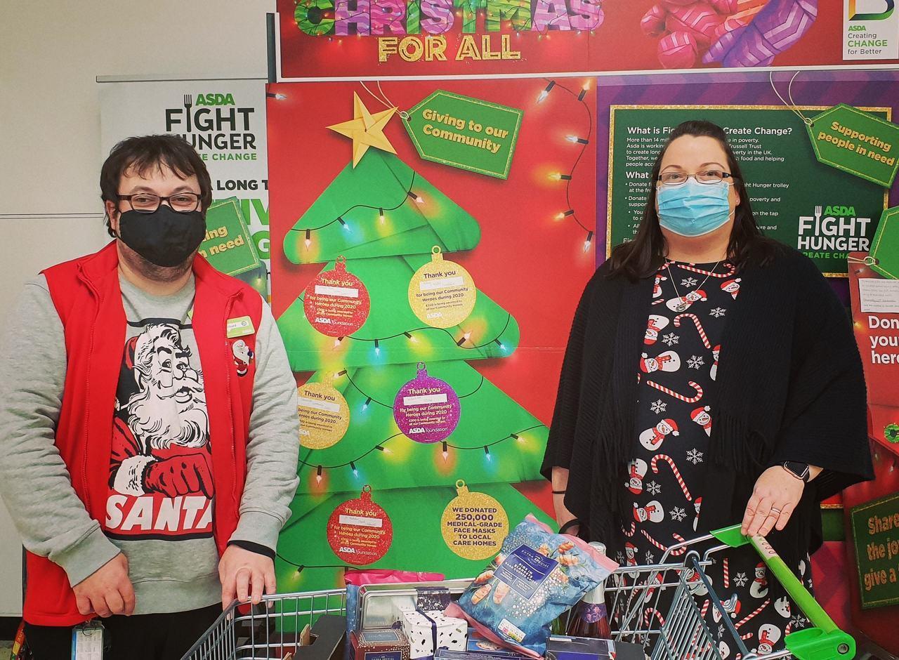 Christmas Donations | Asda Huyton