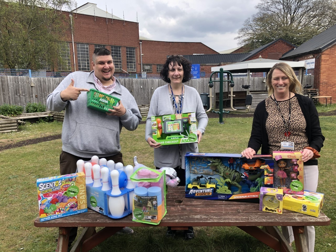 Raffle prizes for roof repair | Asda Perry Barr