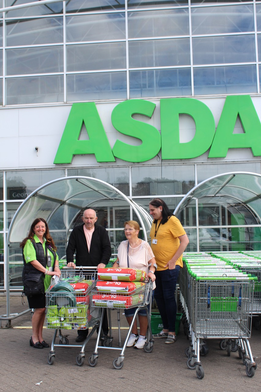 Gardening tools for growing group | Asda Bolton