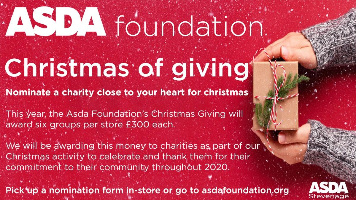 Christmas of giving | Asda Stevenage