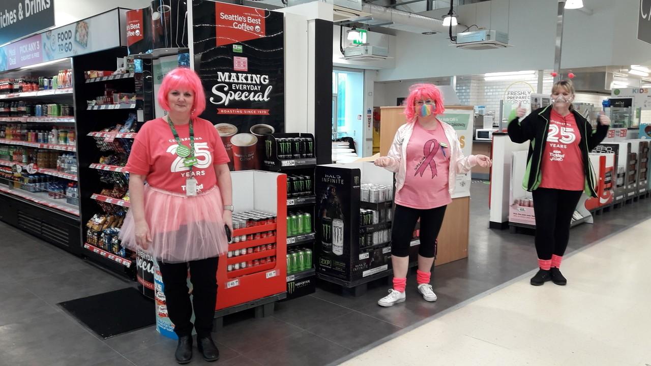 Tickled Pink fun and fizz   Asda Wrexham