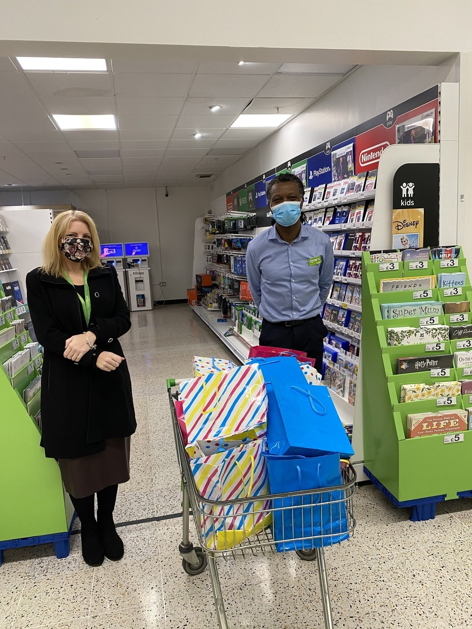 Donating stationery for local school | Asda Chelmsford