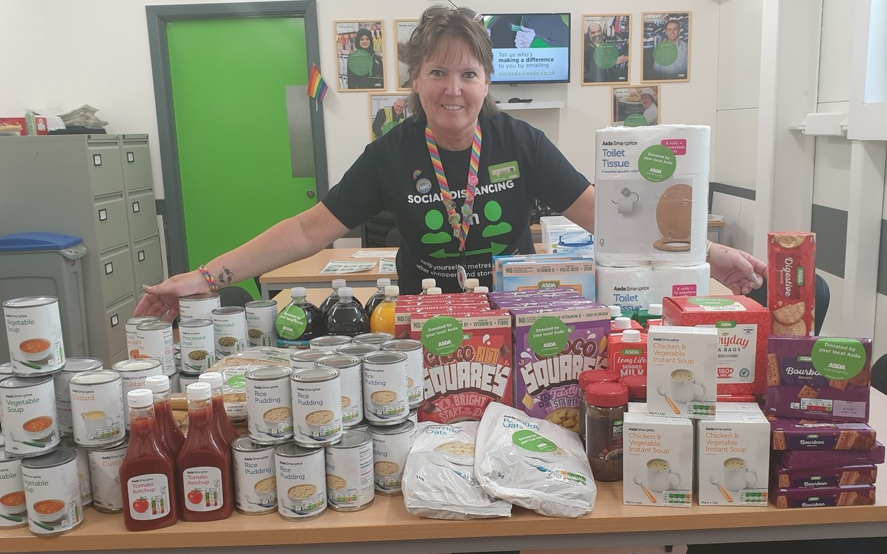 Foodbank donation  | Asda Newport Isle of Wight