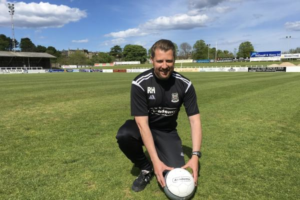 Robbie Hope at Borough Briggs - Elgin City FC's home ground