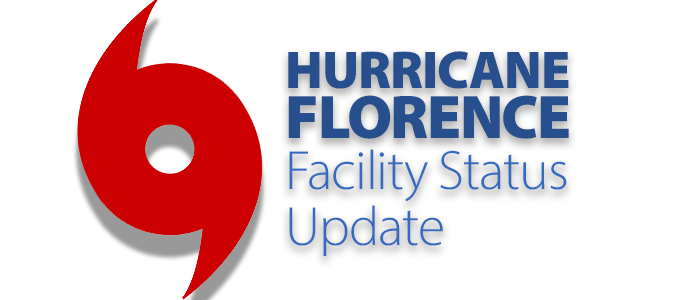 due to hurricane florences impact on north carolina south carolina and virginia some walmart us and sams club facilities closed or adjusted hours of