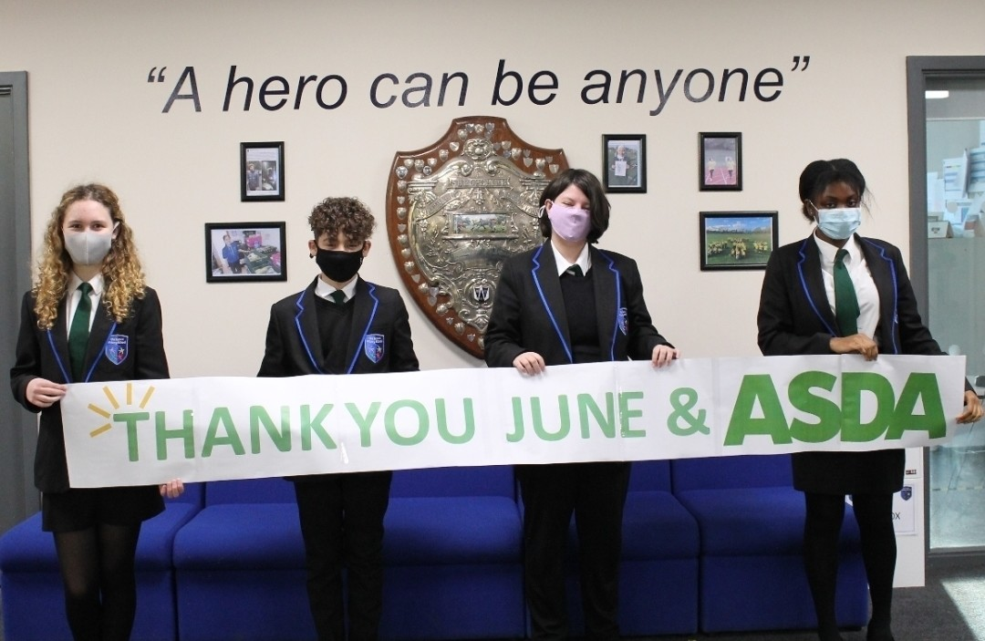 School grant thanks | Asda Donnington Wood
