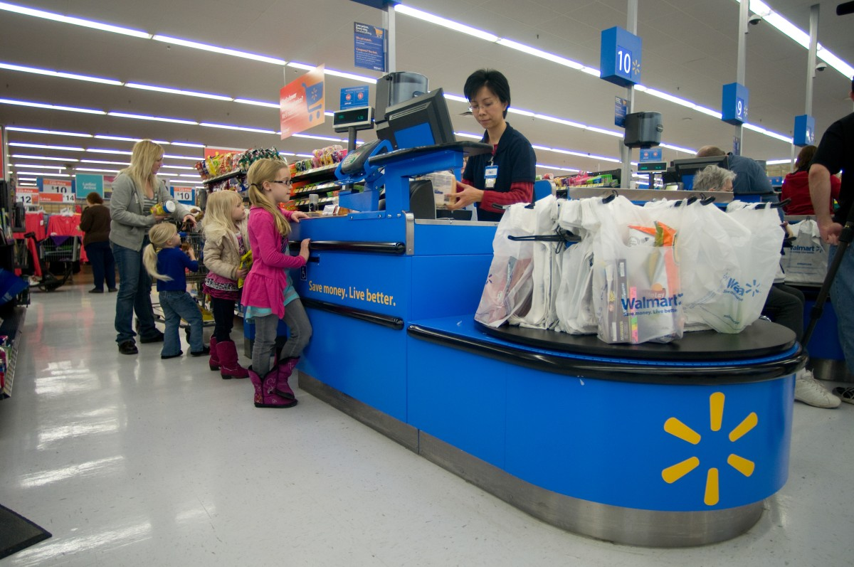 Walmart self checkout 2 for 1 upskirt special 4