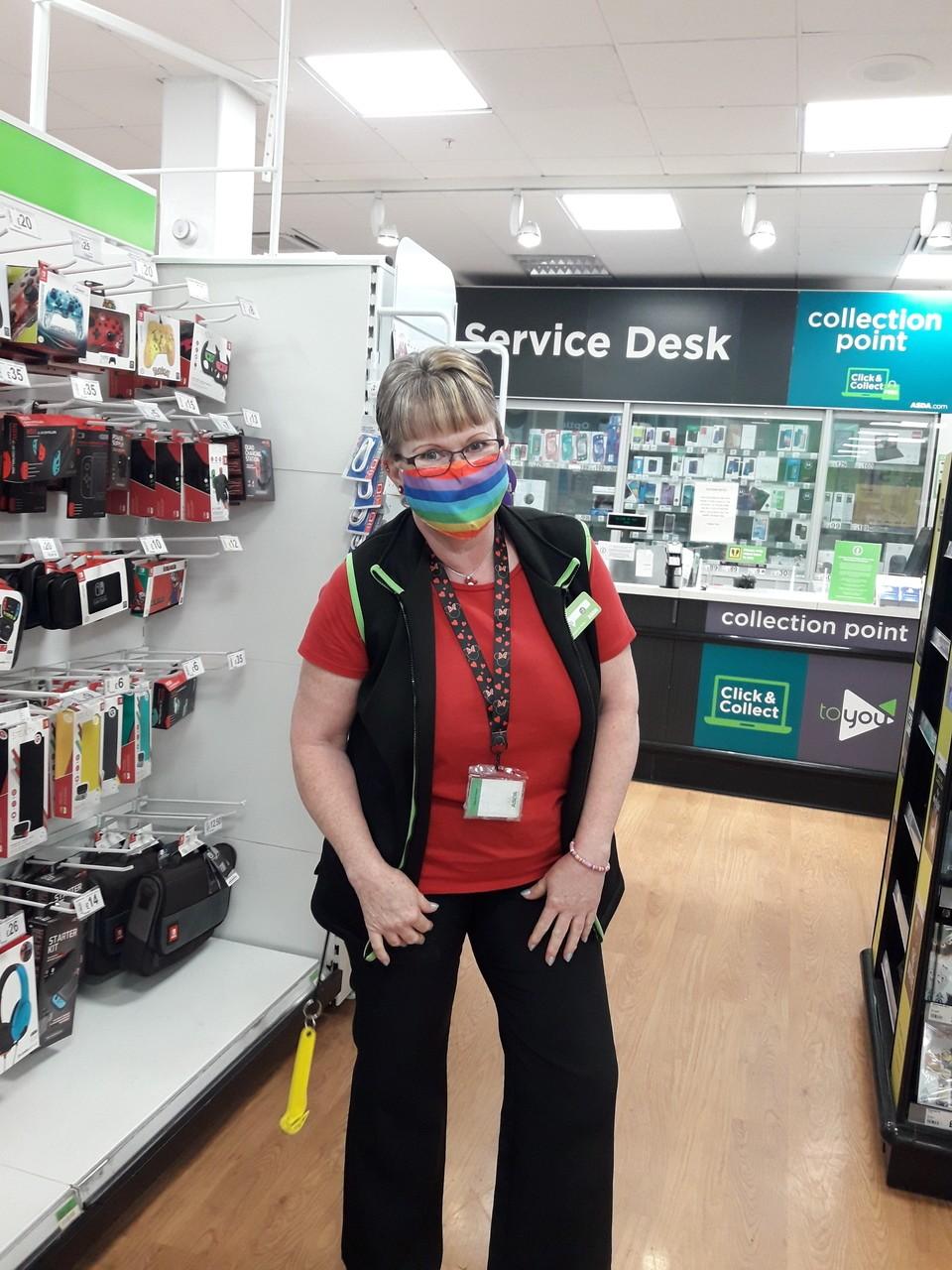 Celebrating Pride in store | Asda Mansfield