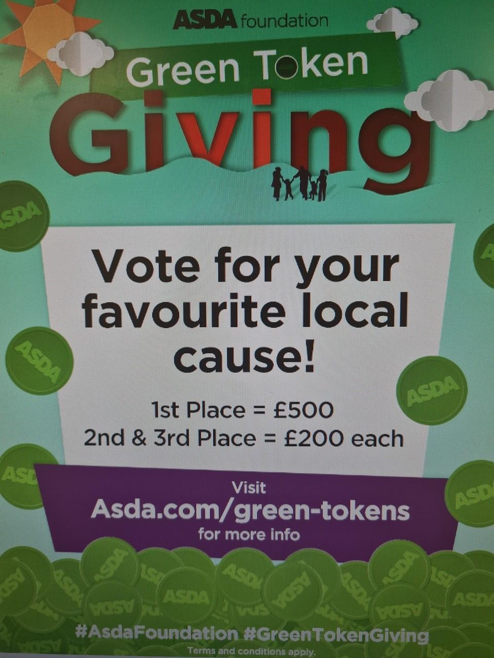 Green tokens are back! | Asda Llangefni