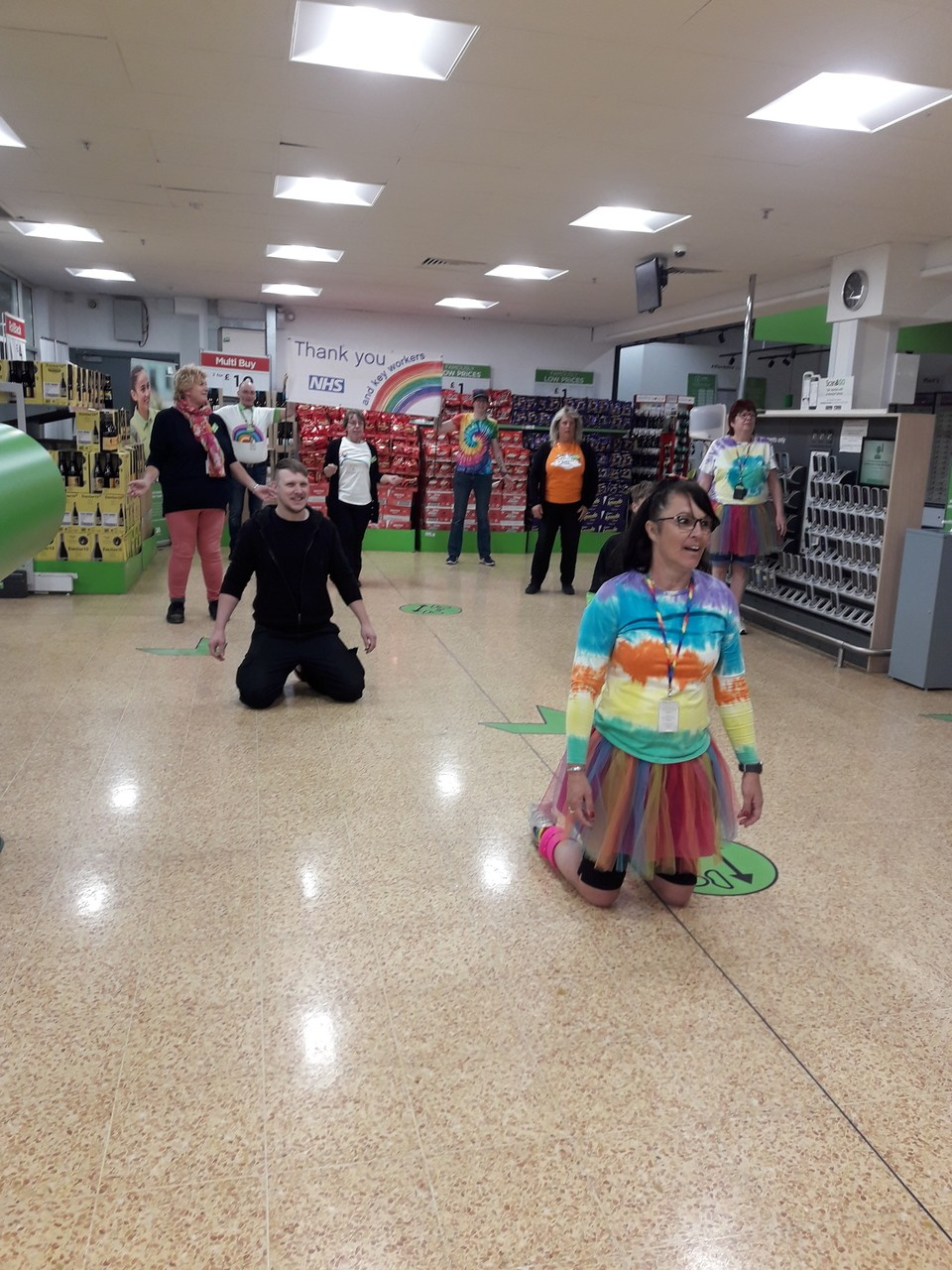 rainbow thursday again | Asda Taunton