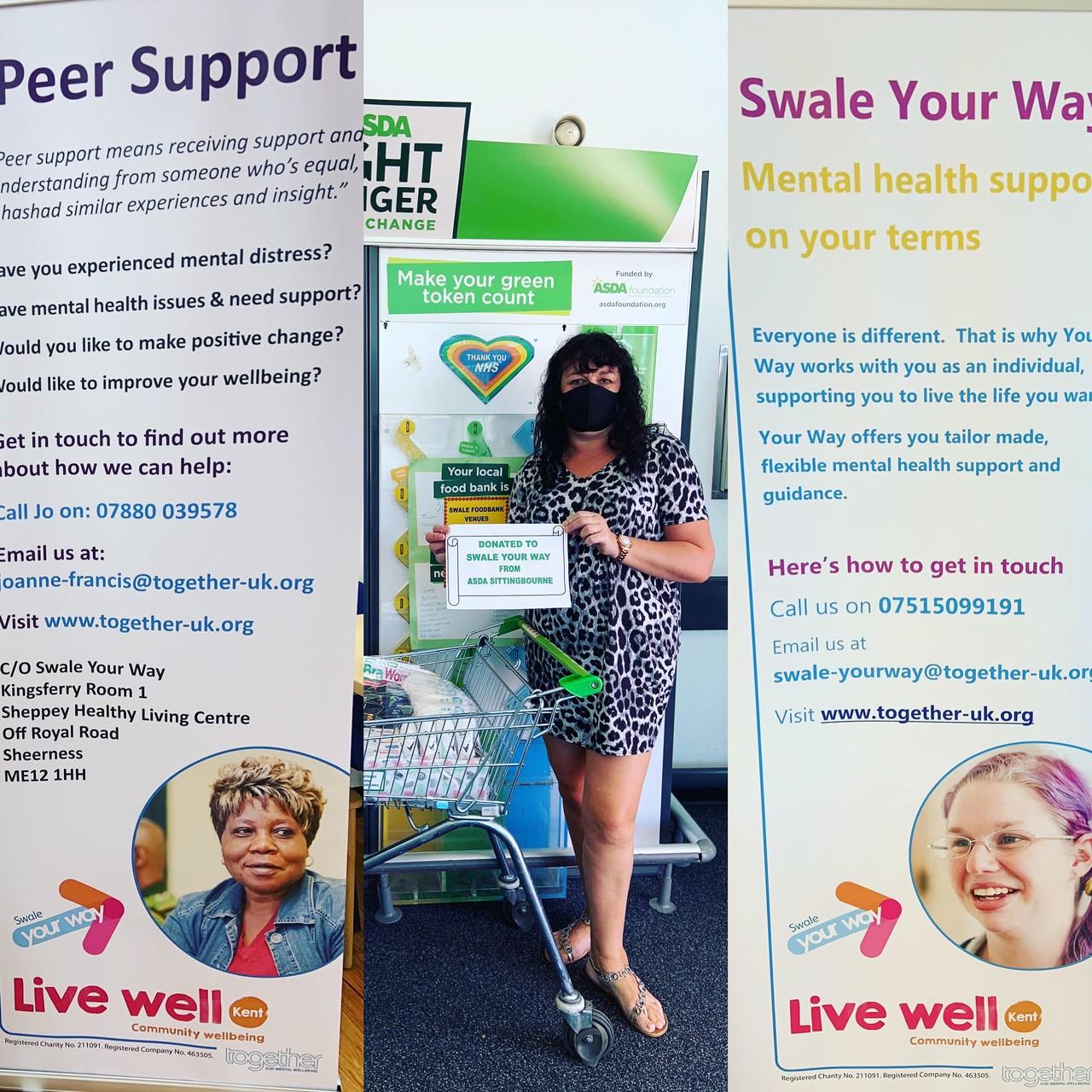 Swale Your Way Donation   Asda Sittingbourne