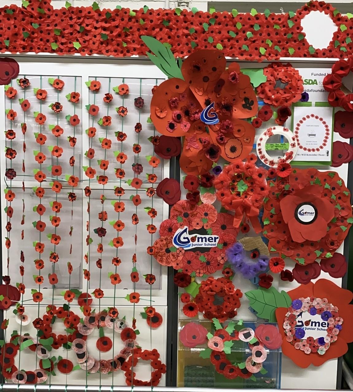 Poppy Appeal thanks | Asda Gosport
