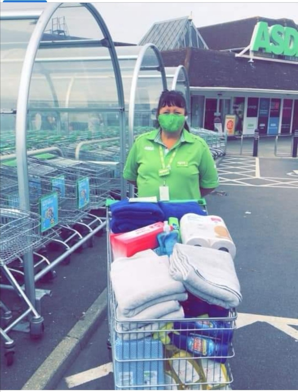 Off The Streets charity donation | Asda Shoebury