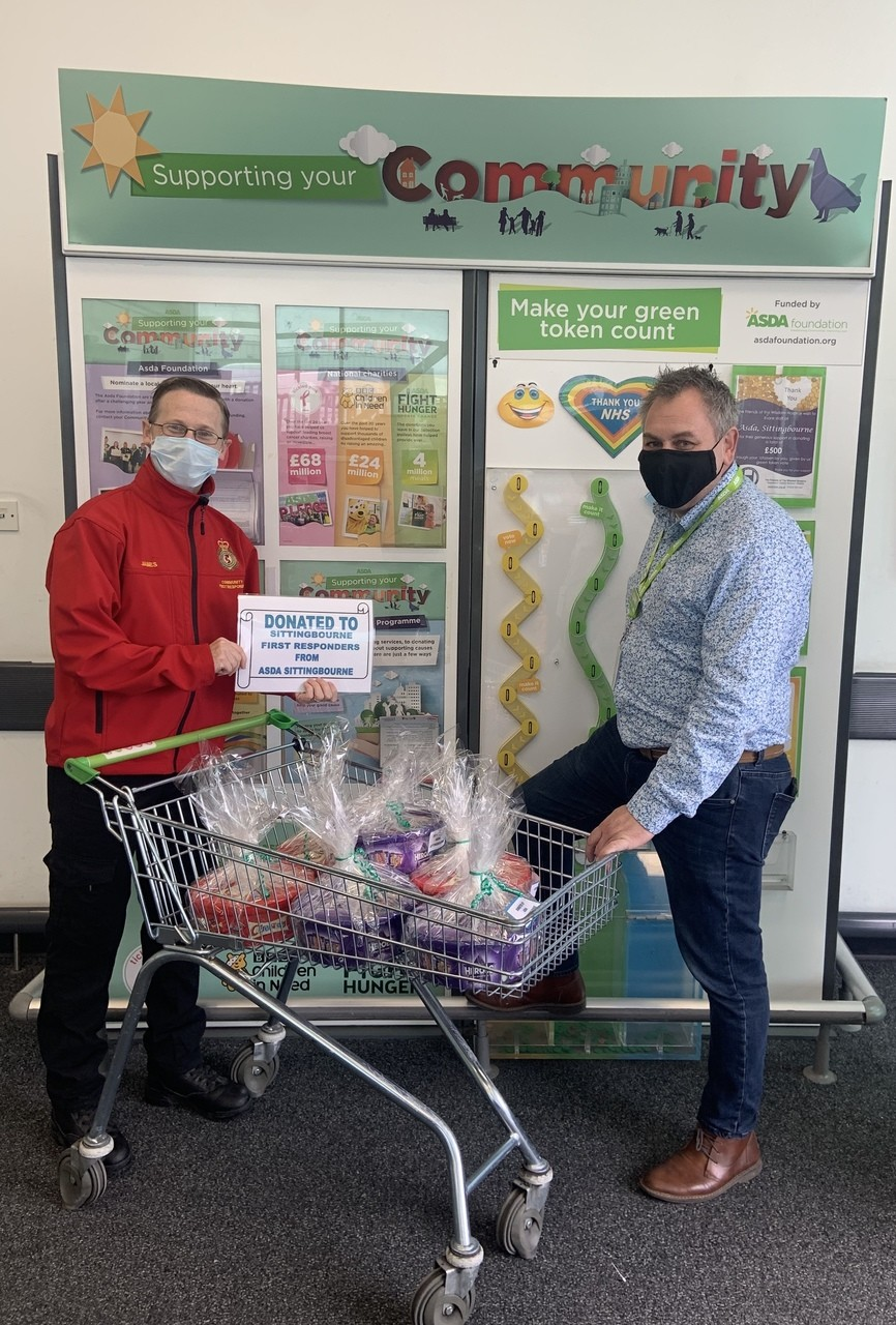 Presentation to Sittingbourne First Responders | Asda Sittingbourne