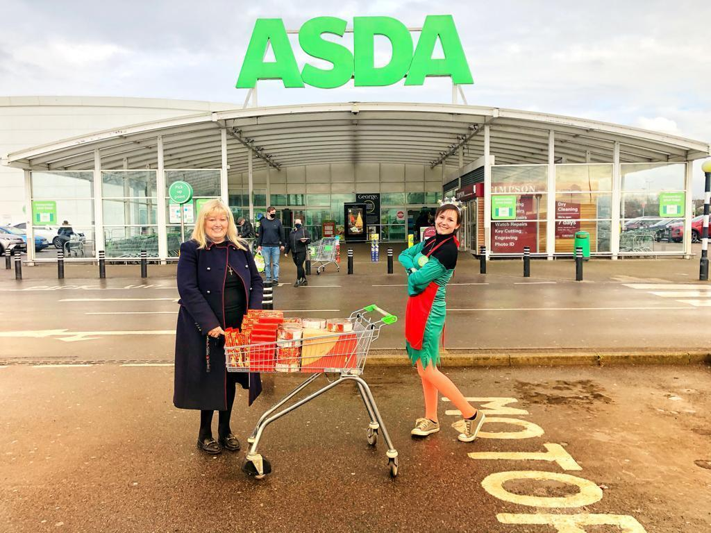 Supporting LVE Foundation's Christmas carol concert  | Asda Leyton Mills