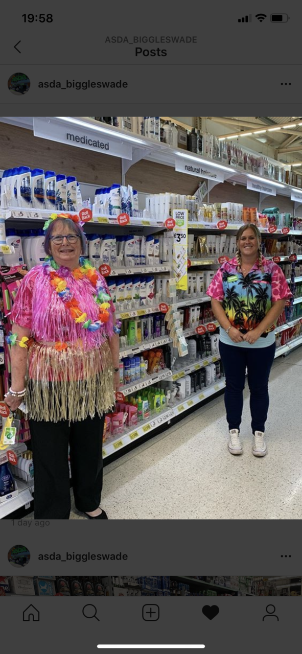 Hawaiian Day fun | Asda Biggleswade