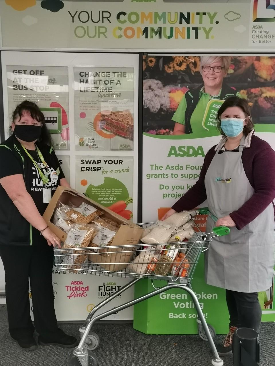 Chaos & Calm donation | Asda Shoebury
