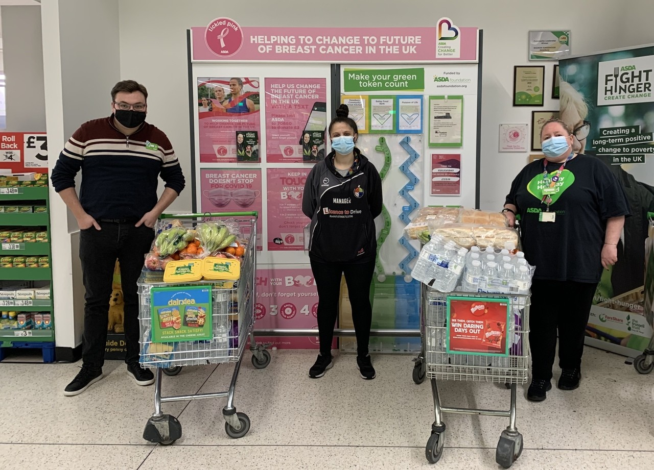 Food donation  | Asda Dewsbury