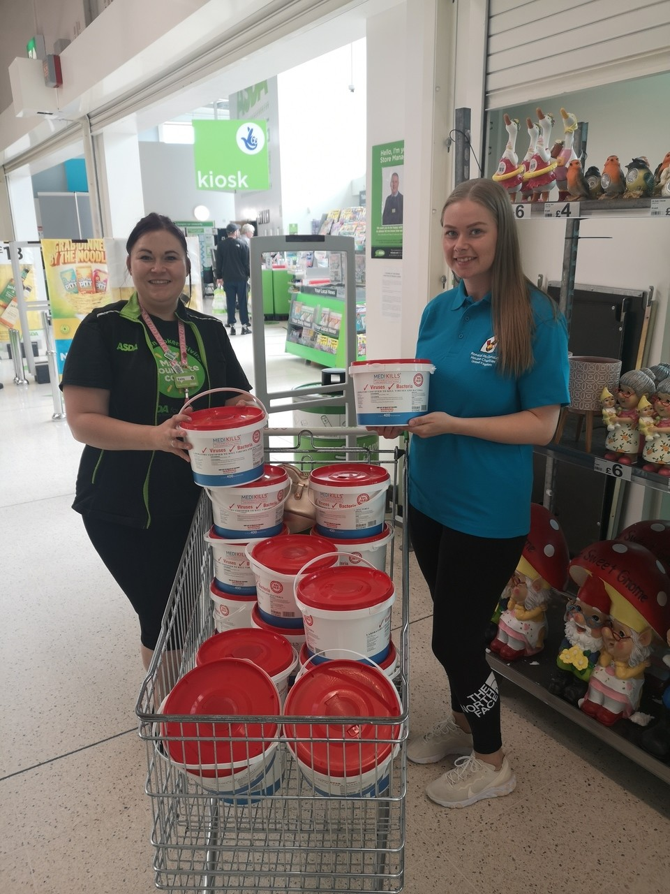 Donation to Ronald MacDonald House Birmingham | Asda Barnes Hill