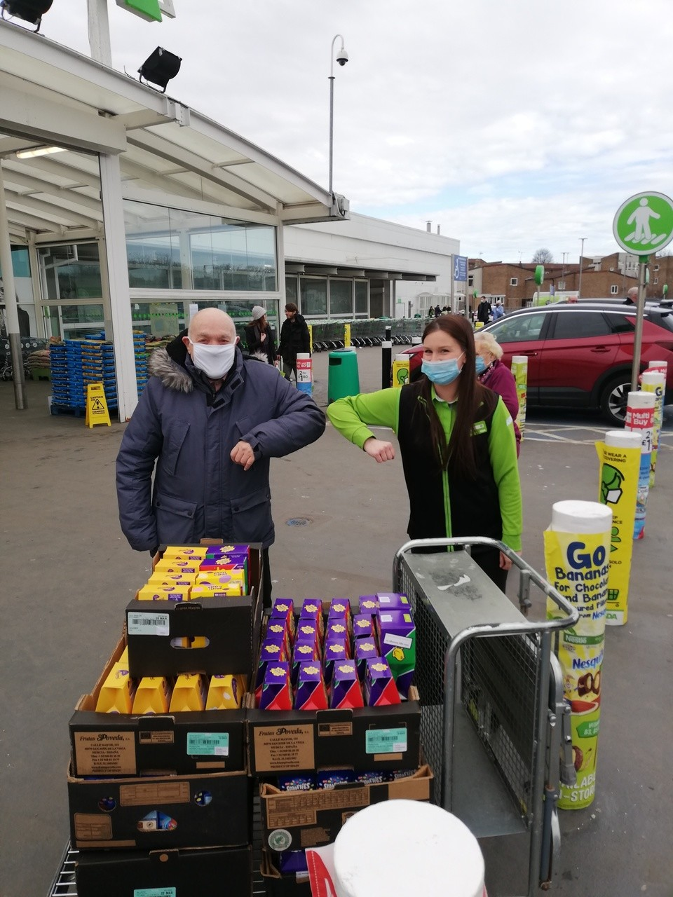 Spreading Easter cheer!  | Asda Peterlee