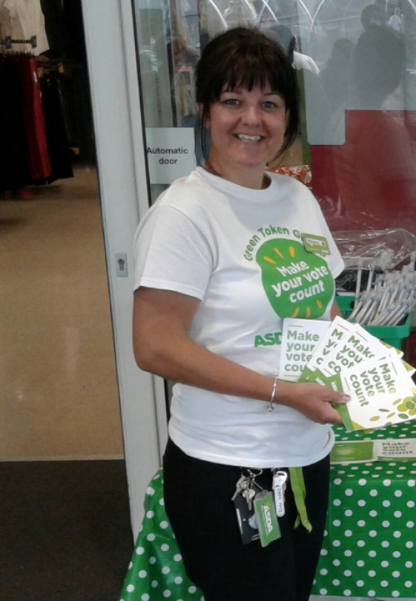 Asda Sutton in Ashfield community champion Hayley Carrington