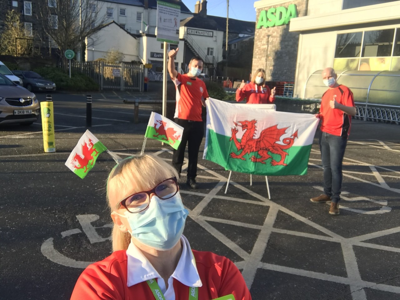St David's Day | Asda Pwllheli