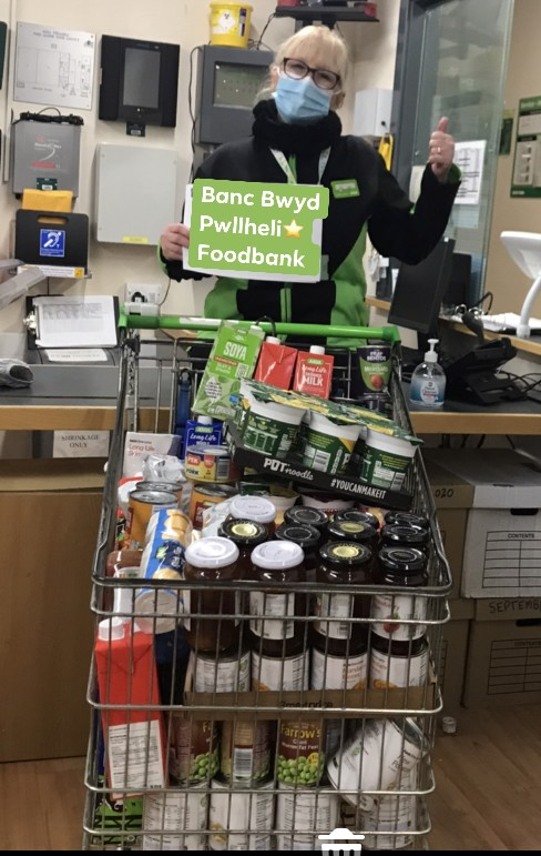 Support for our Banc Bwyd Pwllheli Foodbank | Asda Pwllheli