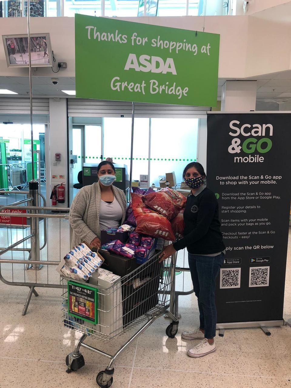 Donation for The Sikh Soup Kitchen | Asda Great Bridge