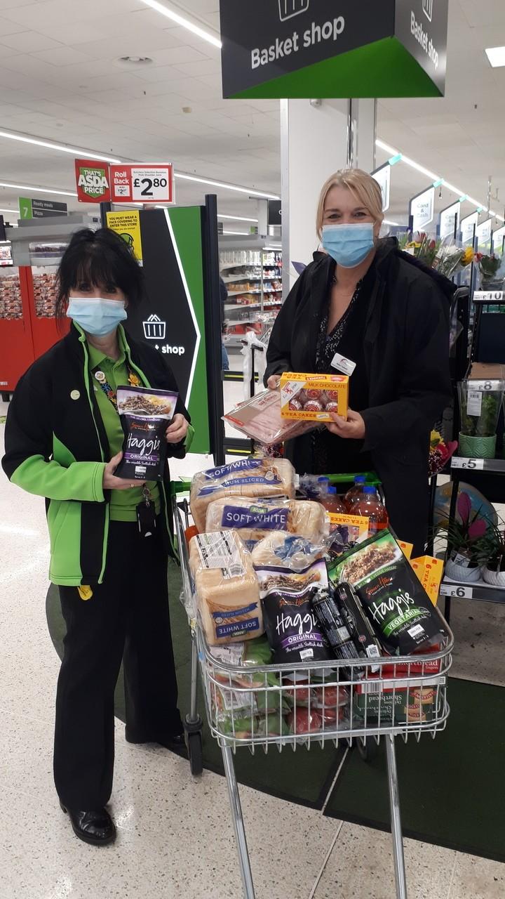 Burns Night donation | Asda Huddersfield