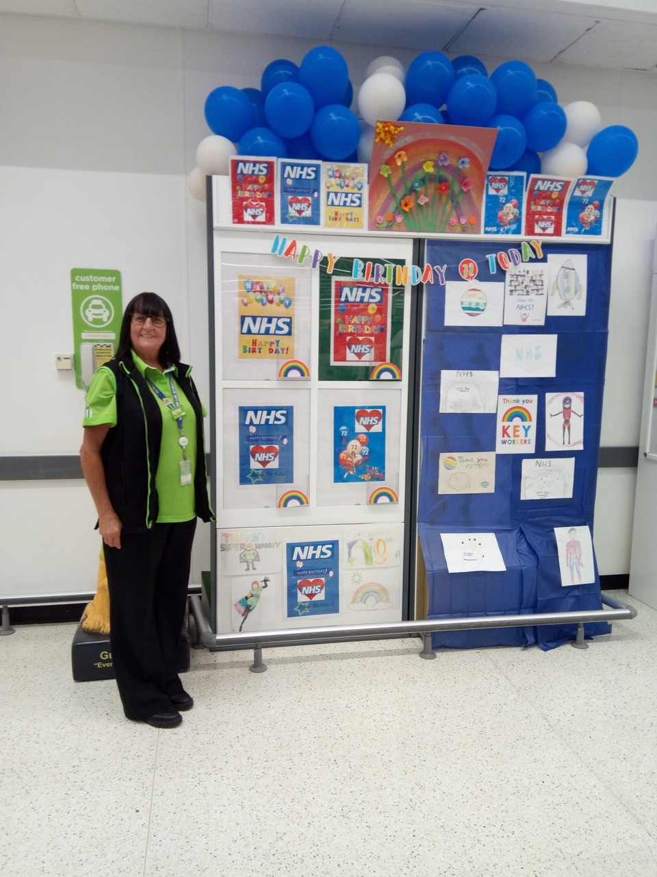 Happy 72nd birthday to the NHS! From Asda Broadstairs. | Asda Broadstairs