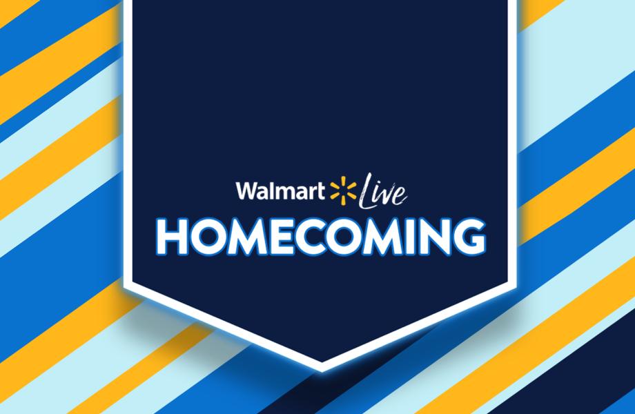 Walmart Live Homecoming