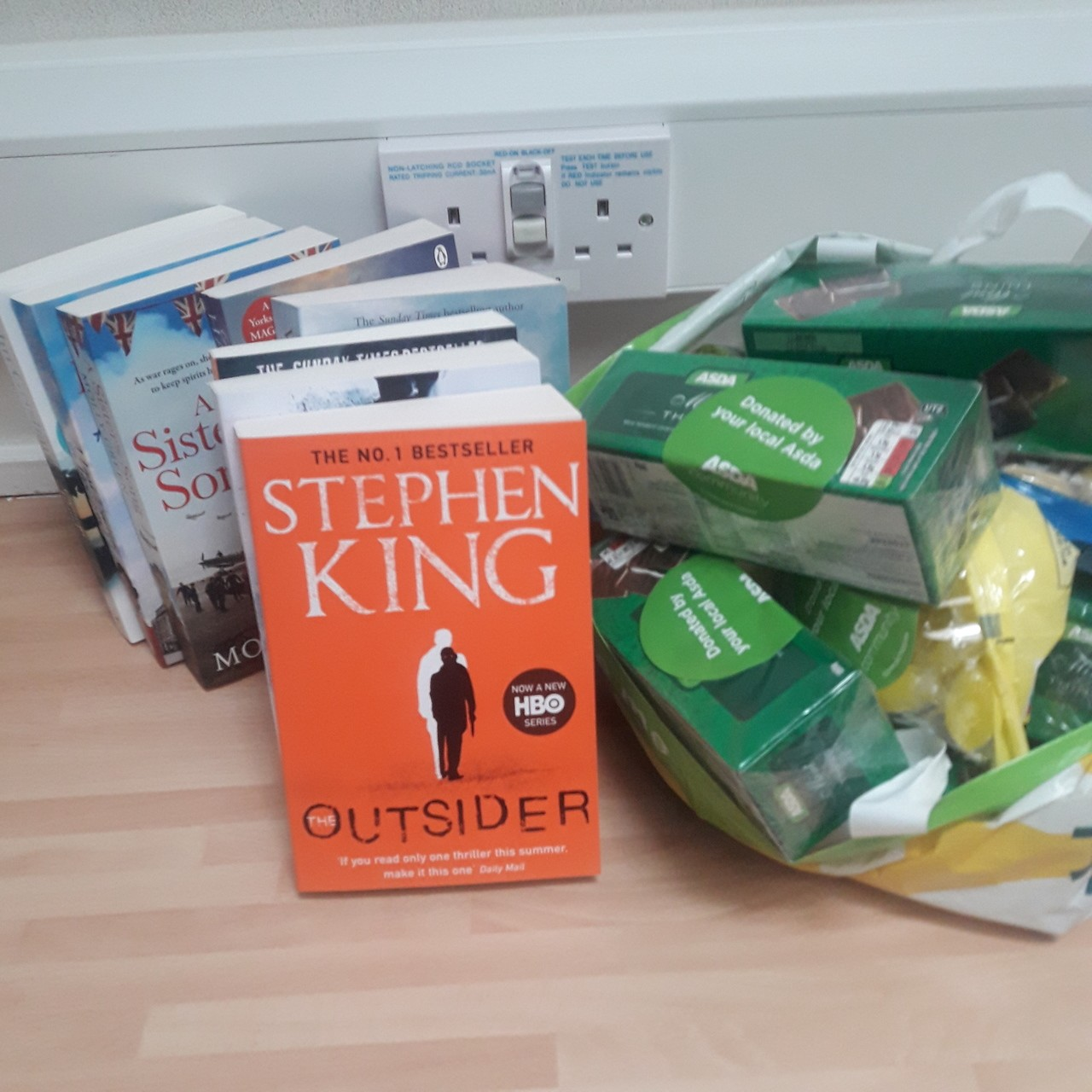 Care package thanks | Asda Crewe