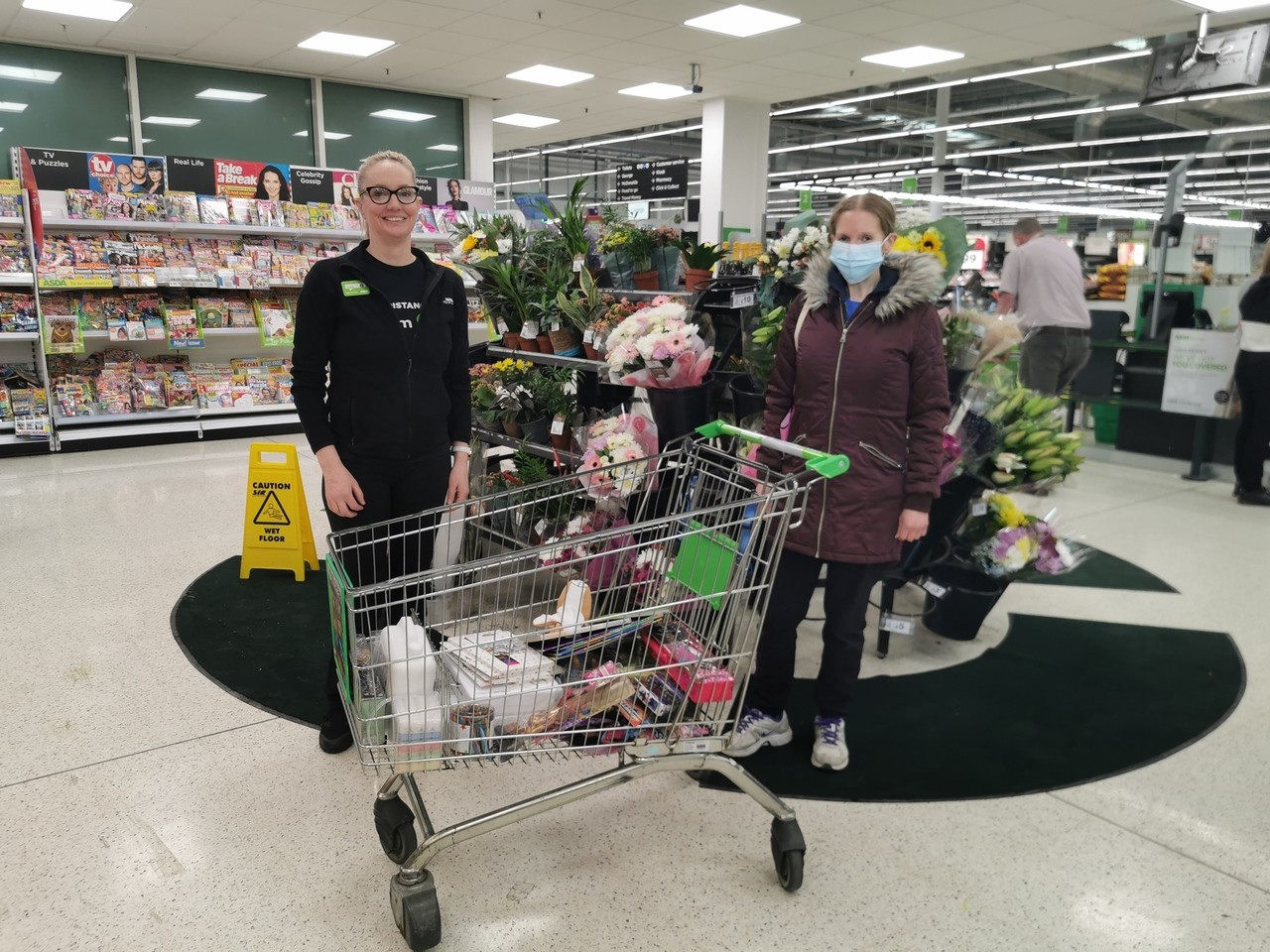Donation to the local NHS nursery,books, dolls arts and crafts. | Asda Crawley