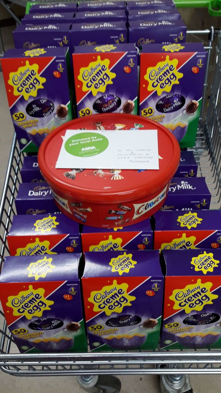 Easter Eggs for Eldery | Asda Leyton Mills