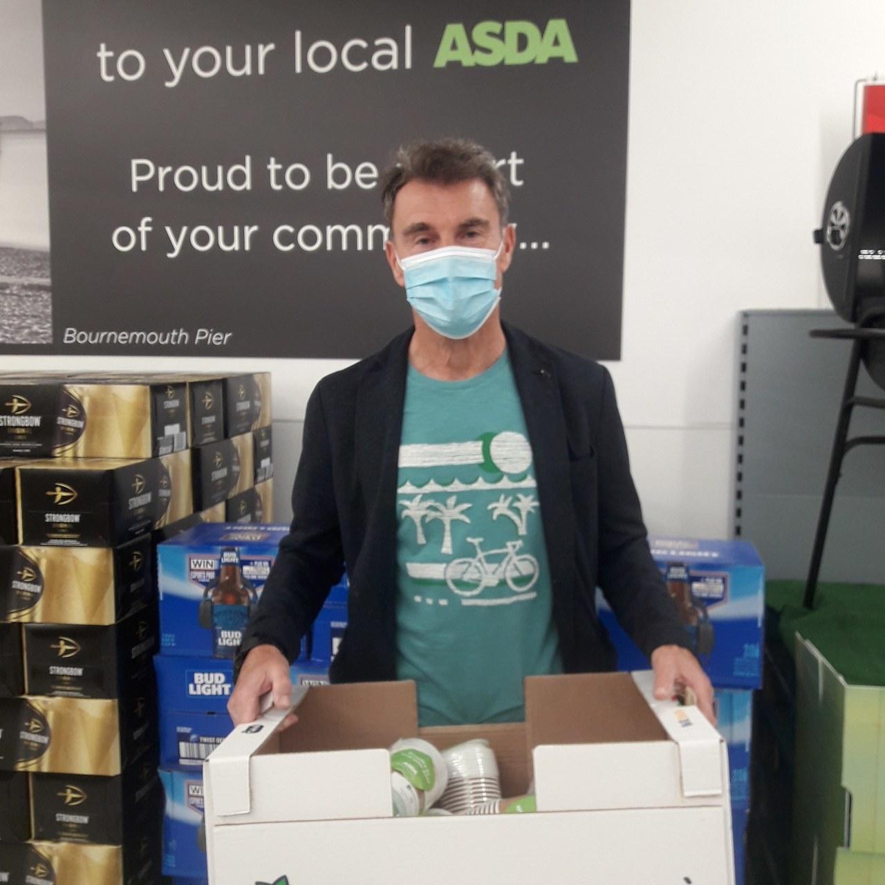 Donation to Age UK | Asda Bournemouth