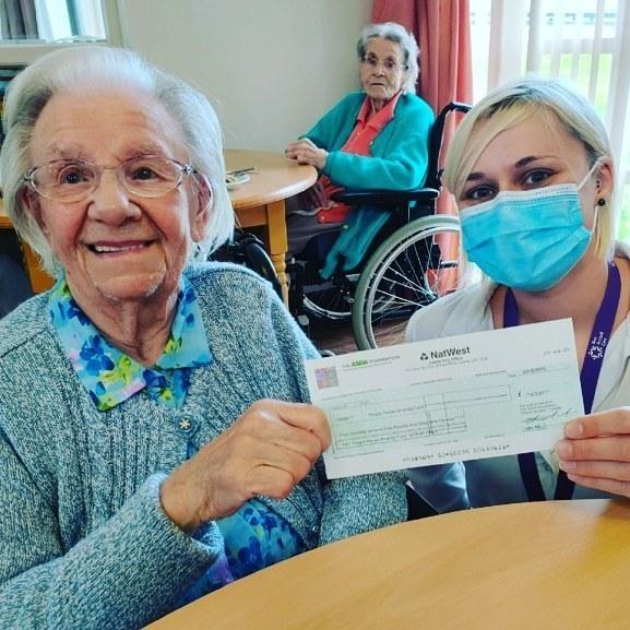 Fergus House hygiene grant | Asda Dyce