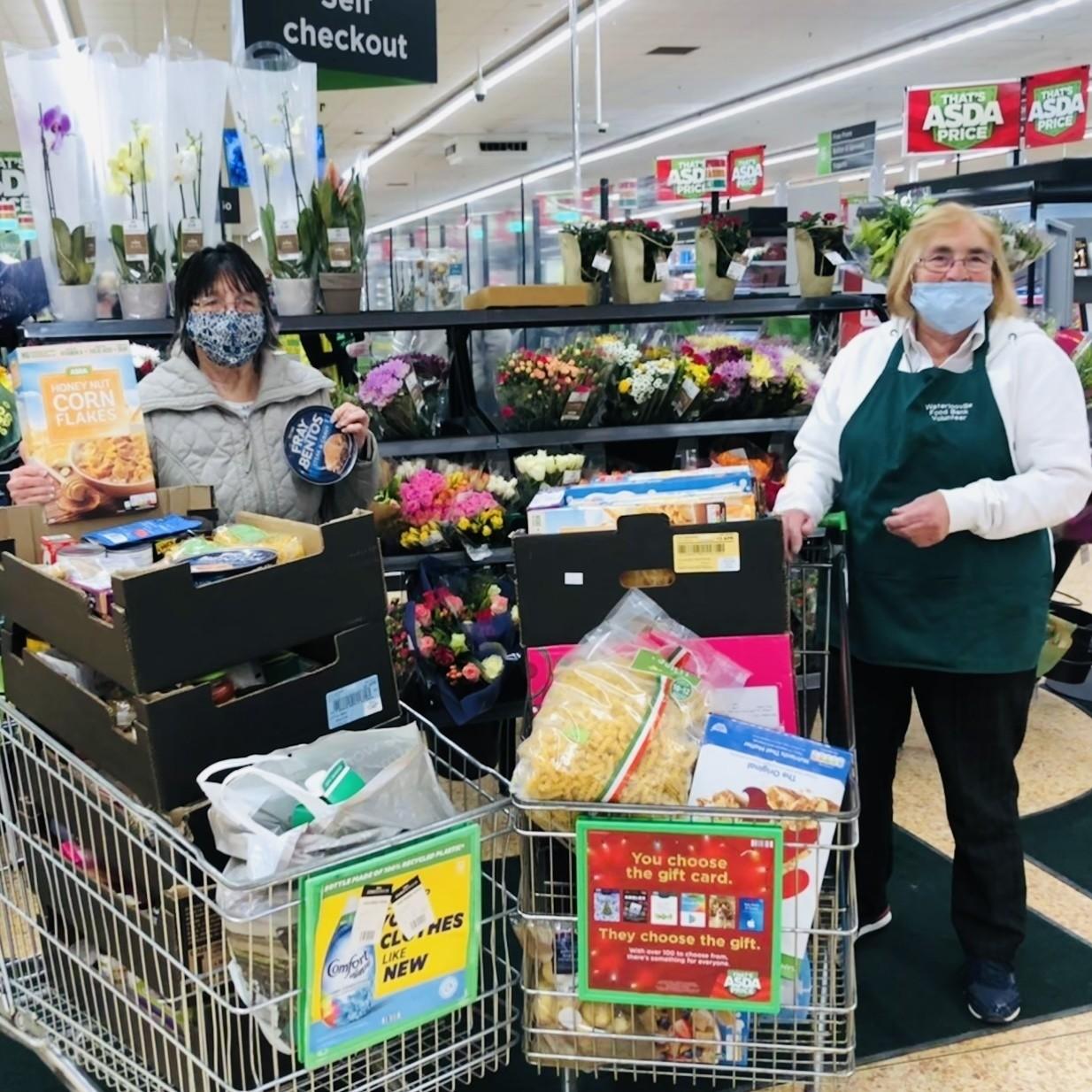 Food bank support | Asda Waterlooville