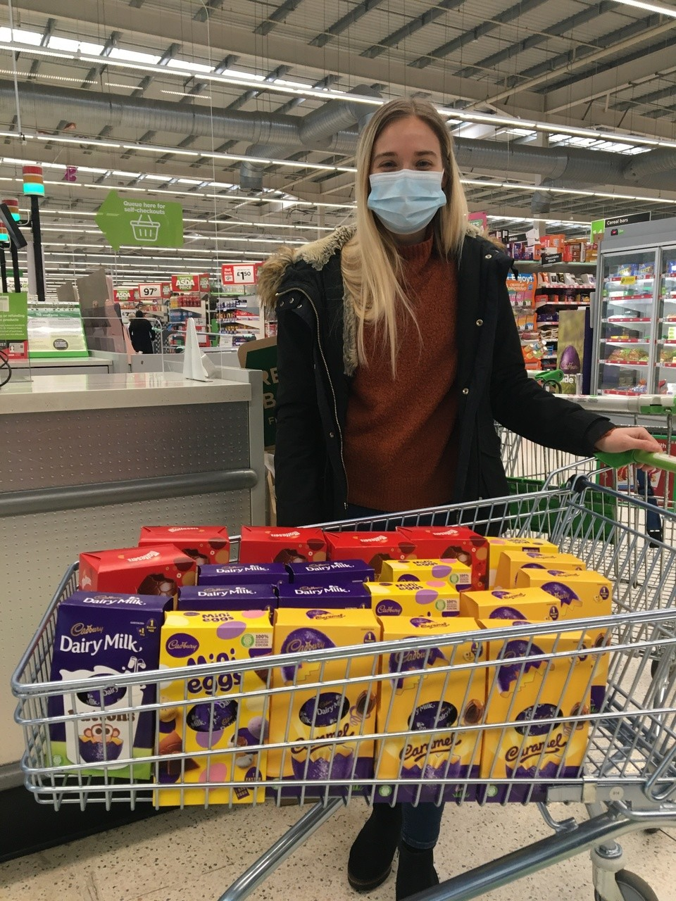 Easter Egg donation to local care home | Asda Swindon Haydon