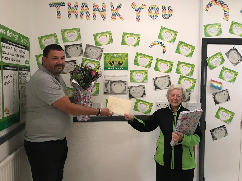 Mary retires after 35 years of service  | Asda Leamington Spa