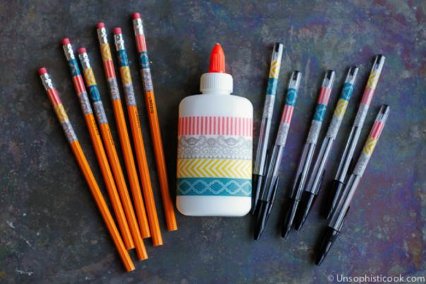 Washi Pencils