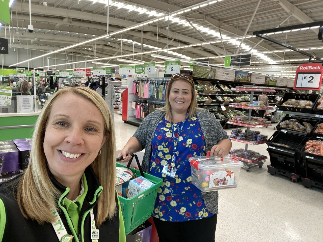 Donation to a local school hub looking after key workers children  | Asda Merthyr Tydfil