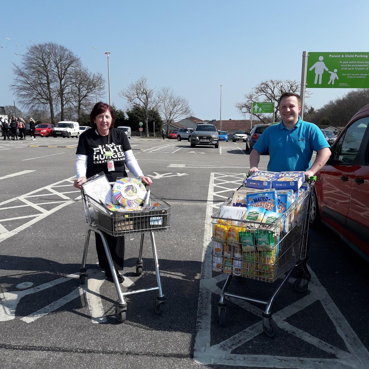 Foodbank collection | Asda Middleton Park