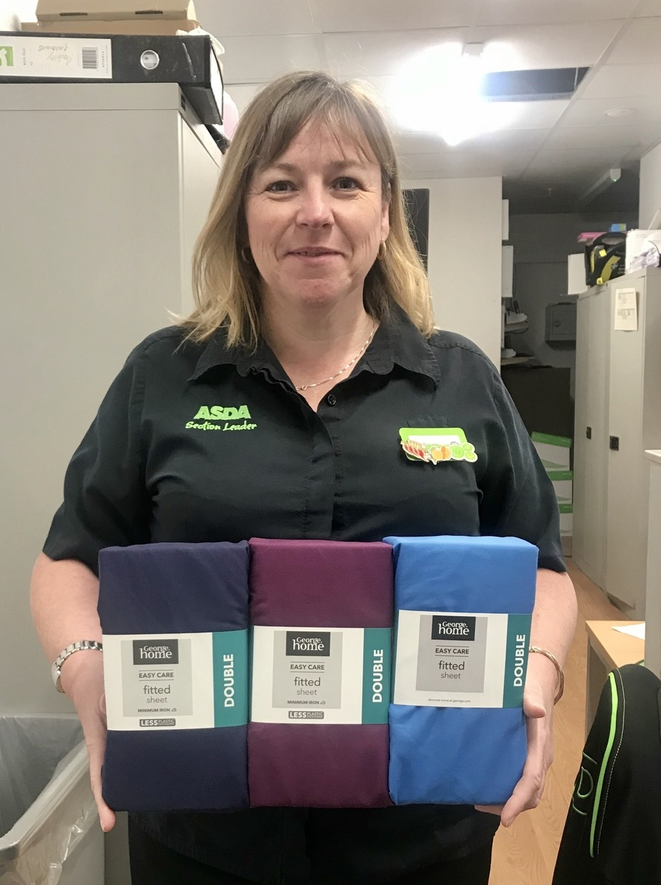 Scrubs For Frome donation | Asda Frome