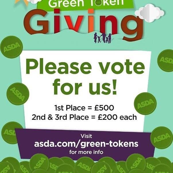 Digital Green Token Giving | Asda Hamilton