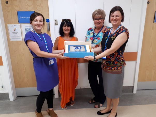 Asda Huddersfield celebrate the NHS's 70th anniversary
