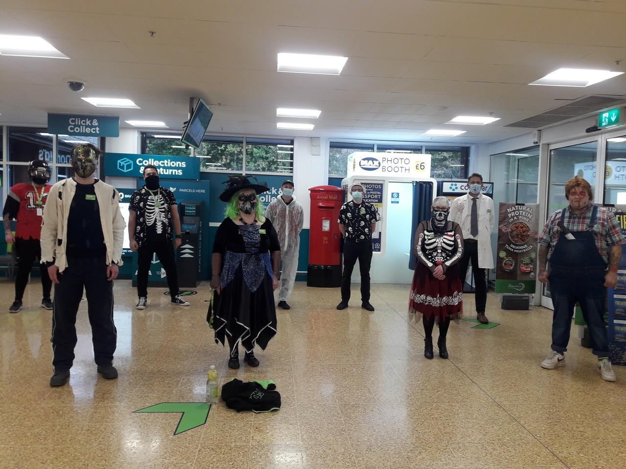 Halloween dressing up | Asda Taunton