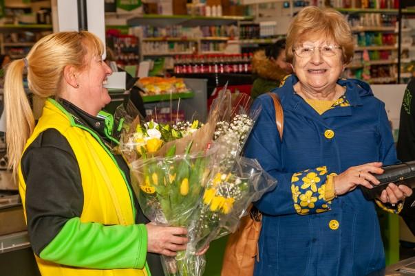 Friendly colleagues at Asda Breck Road in Liverpool